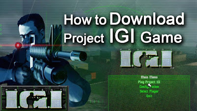 Project IGI 1 Full Game Free Download