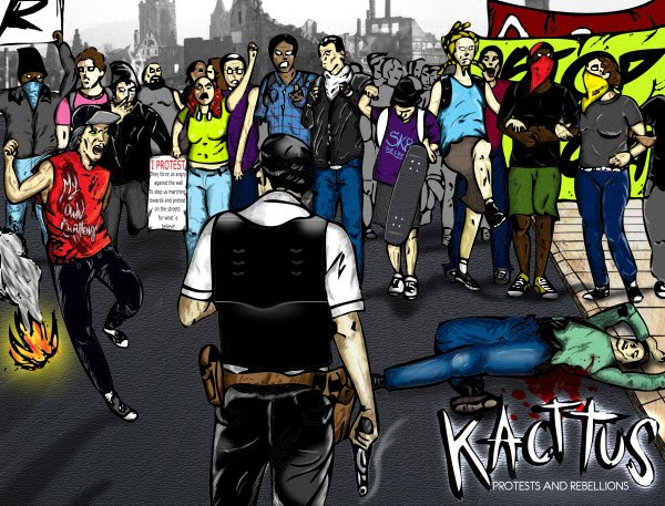 <center>Kacttus - Protests And Rebellions (2011)</center>