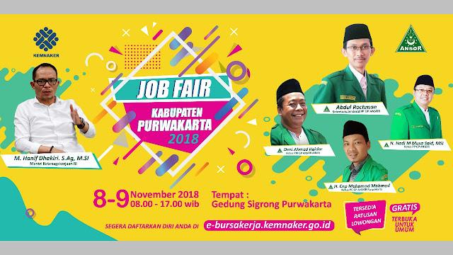 Job Fair Kabupaten Purwakarta (Gratis)
