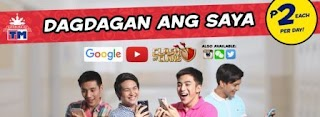 TM 2 Pesos COC, Youtube, Wechat, Twitter and more Internet Promo