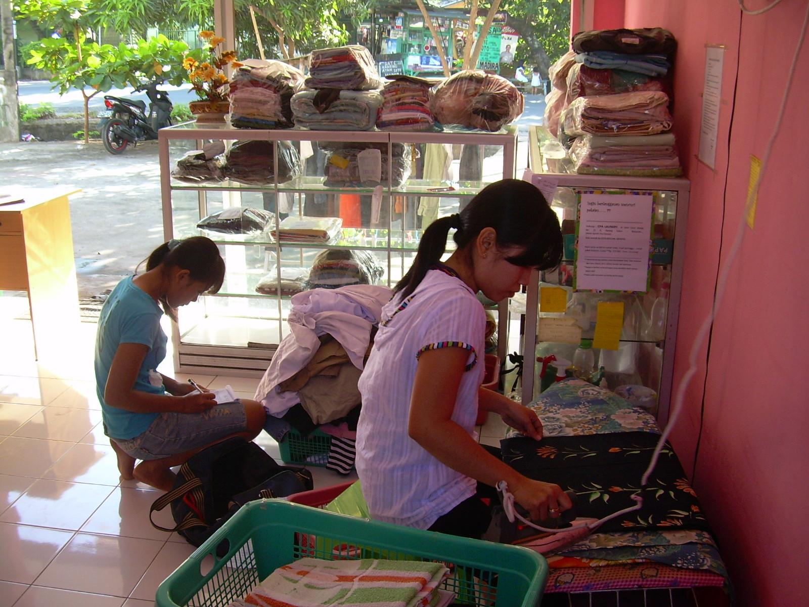 Bisnis laundry untuk ibu di rumah