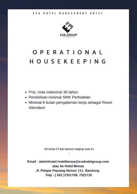 Lowongan EVA Hotel Management