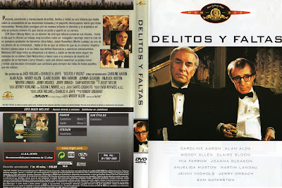 Carátula, cover, dvd: Delitos y faltas | 1989 | Crimes and Misdemeanors