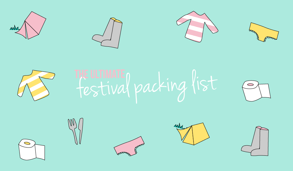 Festival packing list | The Dress Diaries