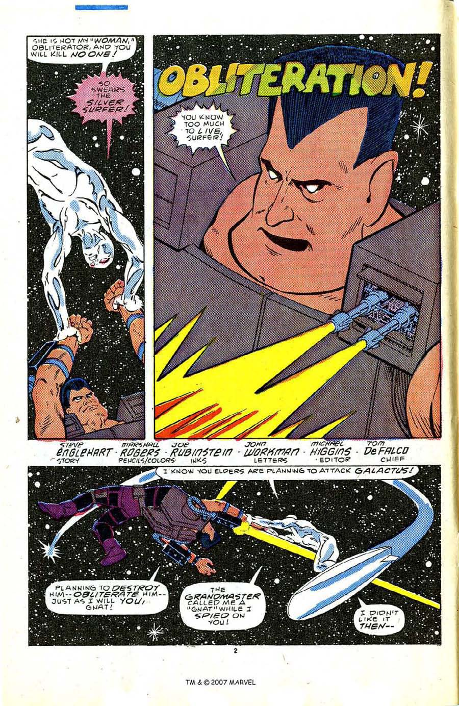 Read online Silver Surfer (1987) comic -  Issue #5 - 4