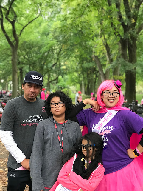 Making strides against breast cancer at Central Park