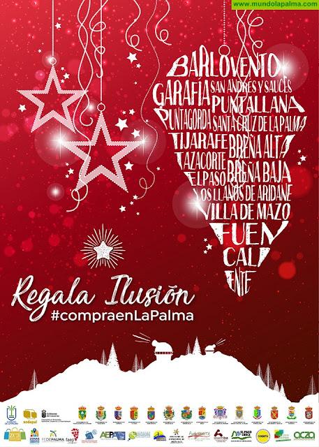 'Regala ilusión Compra en La Palma', lema de la Campaña comercial de Navidad del Cabildo Insular de La Palma