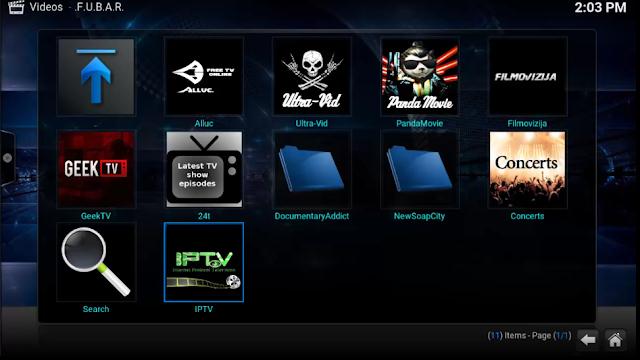 مستودع mediaportal وتركيب أفضل الإضافات لمشاهدة القنوات على برنامج Kodi