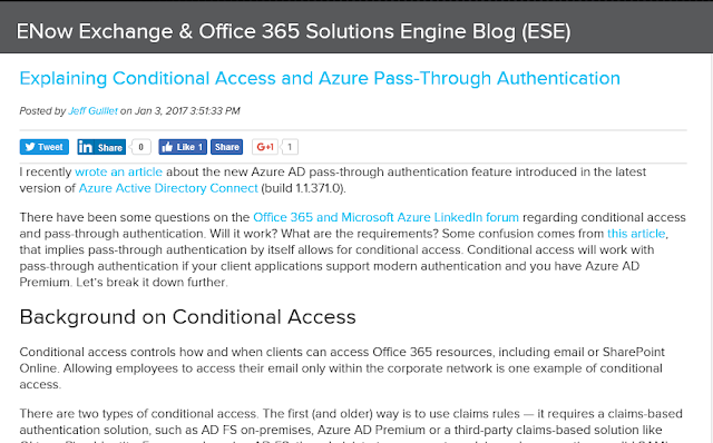The EXPTA {blog}: Explaining Conditional Access and Azure