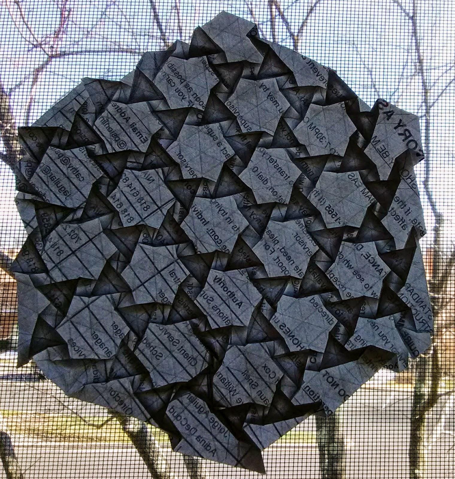 Origami Tessellations Book