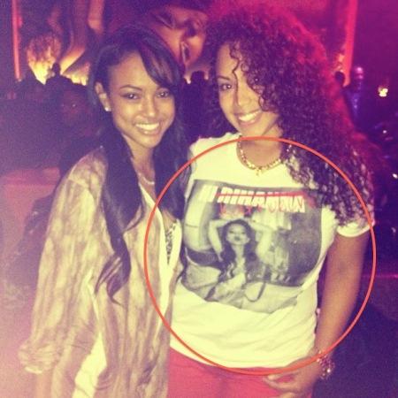Karrueche Tran And Rihanna Physical Fight Bossmaurice'...