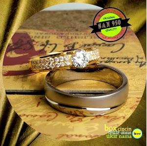 cincin emaskuning dan Paladium R34QA