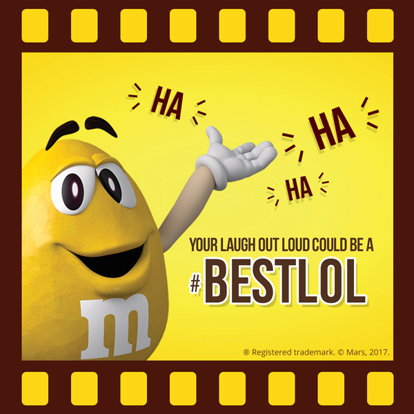 M&M'S® Screenbite Awards