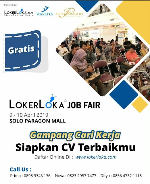 Job Fair Sukoharjo, SOLO 2019