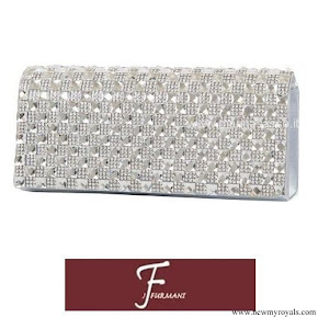 Crown Princess Mary carried J Furmani Stone Flap Clutch bag
