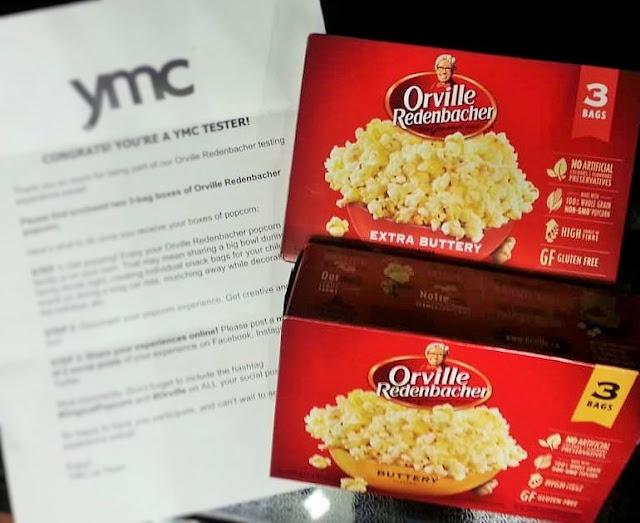 Orville Redenacher Extra Buttery Popcorn