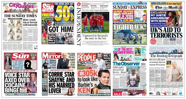 front pages 27-03-16