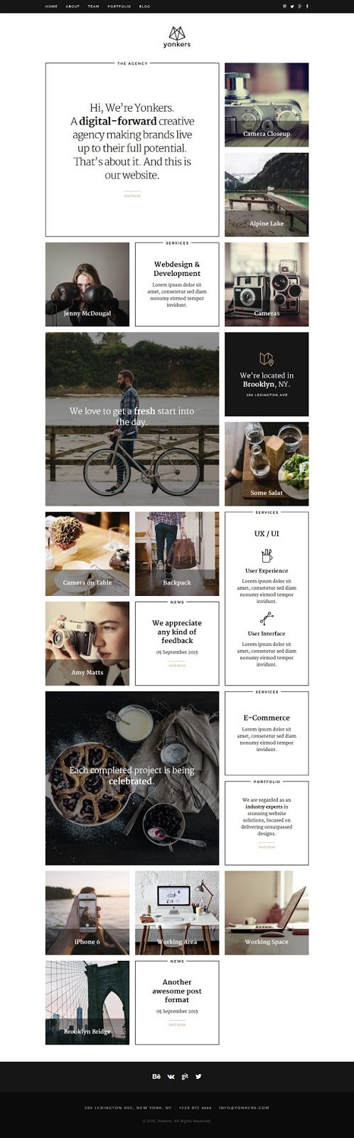 download Portfolio Joomla Template