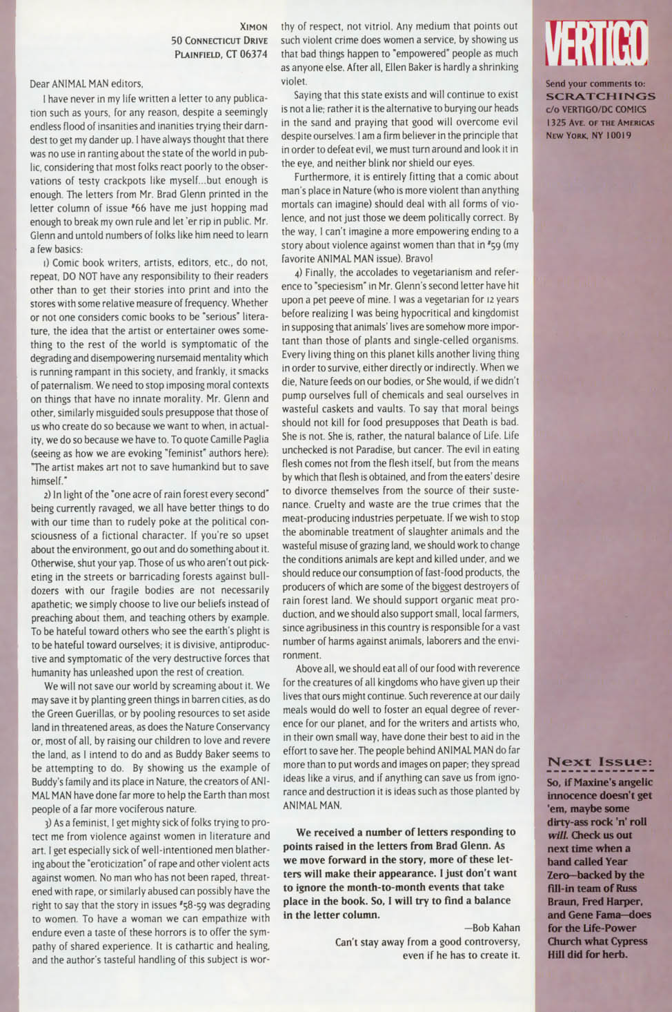 Read online Animal Man (1988) comic -  Issue #73 - 27