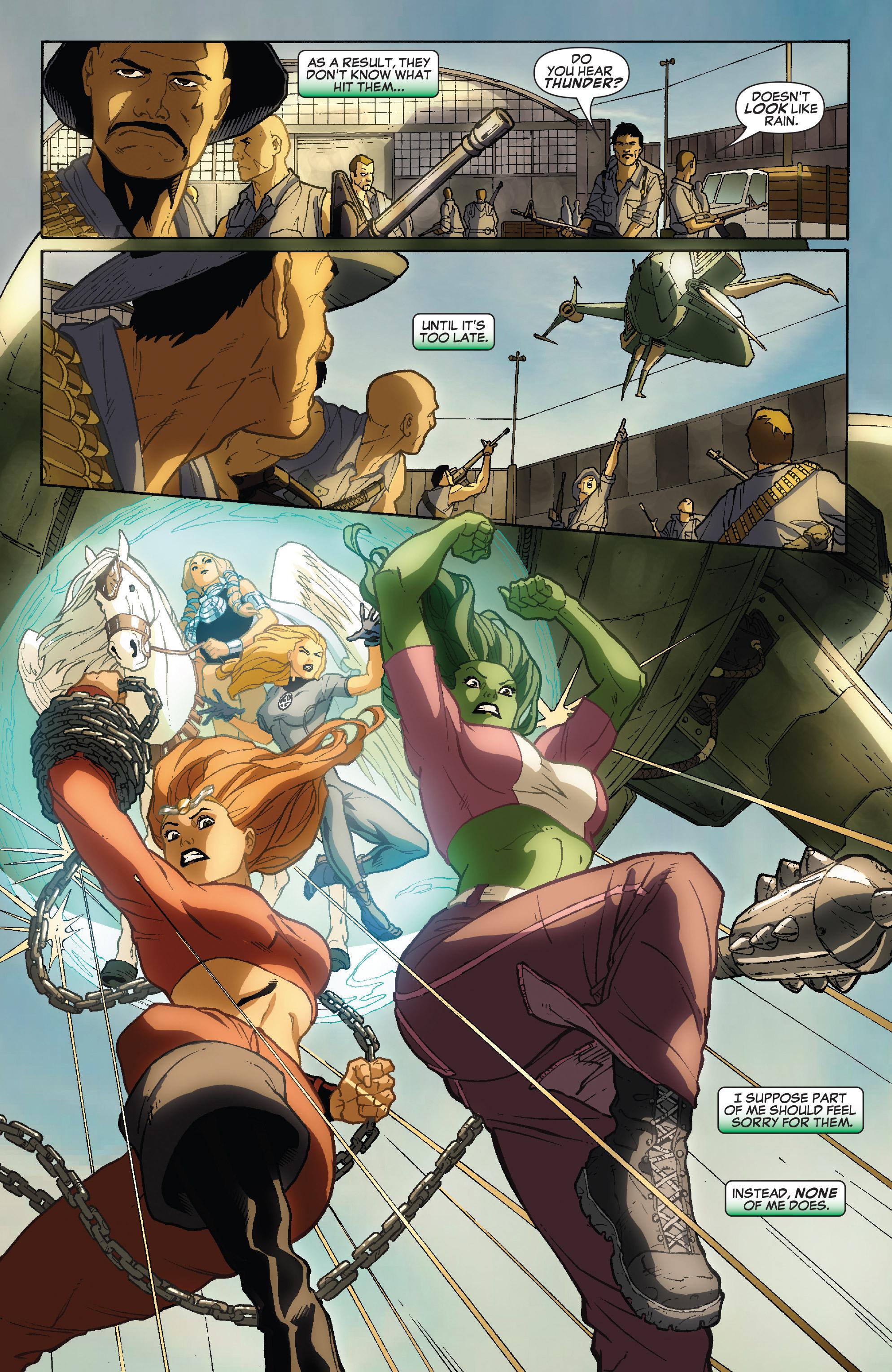 Read online She-Hulk (2005) comic -  Issue #34 - 20