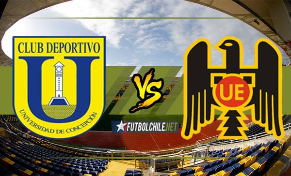 Universidad de Concepción vs Unión Española - Clasificación Copa Libertadores Ida - 13/12/17