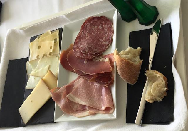 Le petit déjeuner salé de l'hôtel Windsor, Biarritz