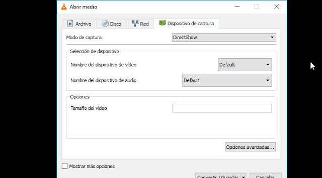 Cómo Grabar pantalla de tu PC con VLC