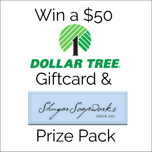 Living Simply: Dollar Tree Gift Card & Shugar Soapworks Giveaway ...