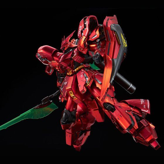 P-Bandai: MG 1/100 MSN-04 Sazabi Ver. Ka [Special Coating Ver.] - Release Info - Gundam Kits Collection News and Reviews