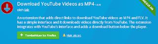 download video youtube dengan addons mozila firefox