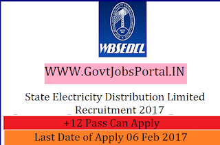 State Electricity Distribution Limited Recruitment 2017 – 2542 Clerk Officer Post