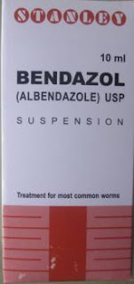 Bendazol 10mg Syrup