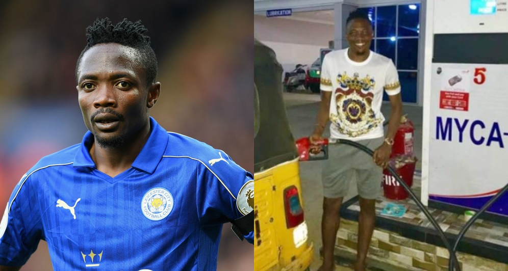 Ahmed Musa opens own filling station 'Myca-7' in Kano (Photos)