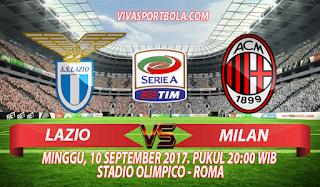 Prediksi Lazio vs AC Milan 10 September 2017