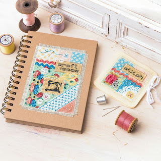 Craft Notebook Needlebook for The World of Cross Stitching Magazine