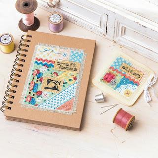 Craft Notebook Needlebook for The World of Cross Stitching Magazine