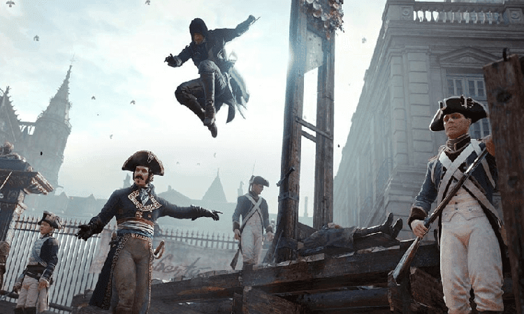 تحميل لعبة Assassin's Creed Unity مضغوطة بحجم صغير