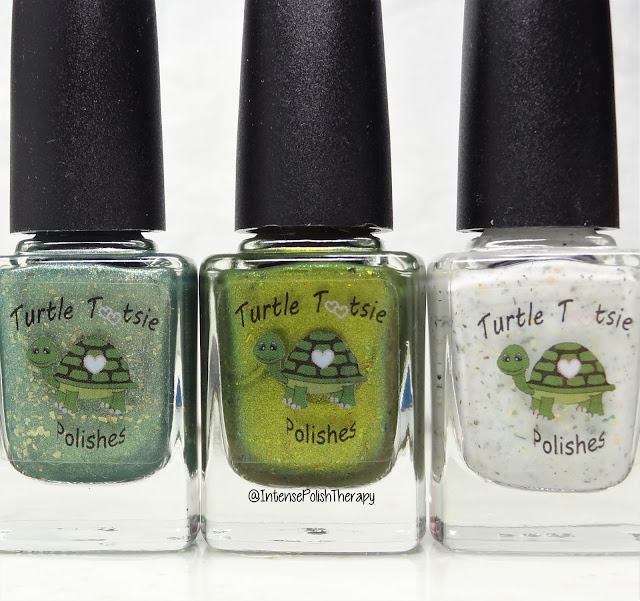 Turtle Tootsie Polishes | St. Patrick's Day Trio