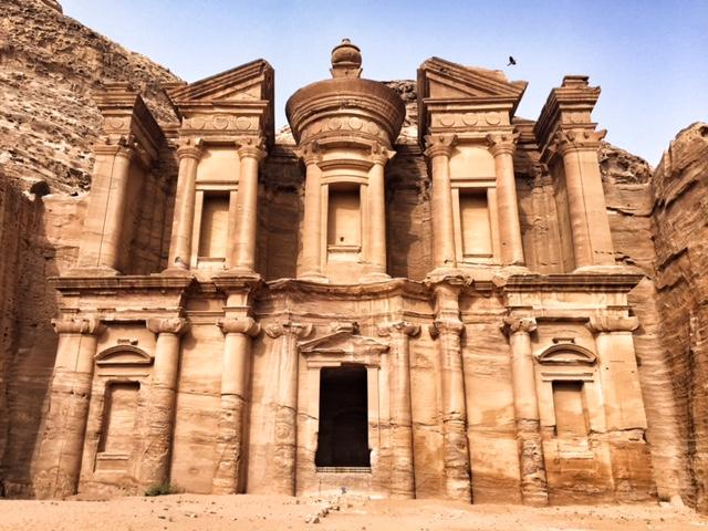 Petra Jordan lost city the monastery Ad Deir