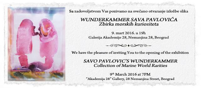 Wunderkammer Sava Pavlovića