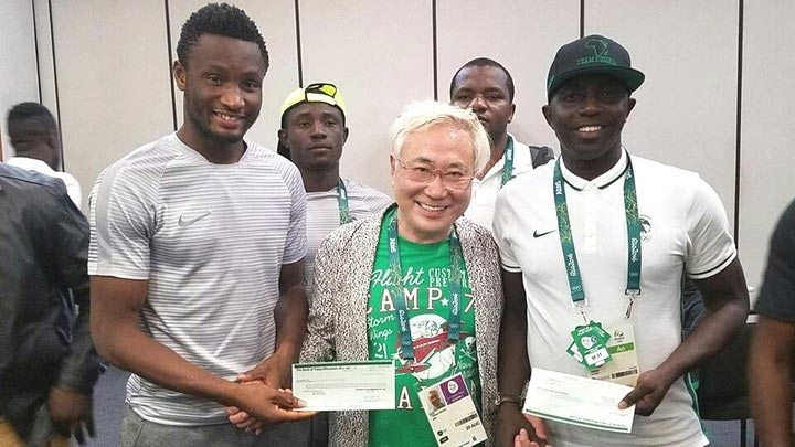 Mikel, Siasia wrong for collecting money from Japanese surgeon - Senator