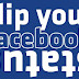 Make Your Facebook Status Upside Down (funny trick)