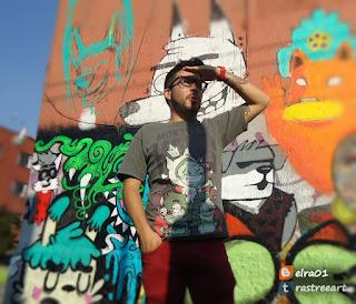 arty artista urbano en el mujam