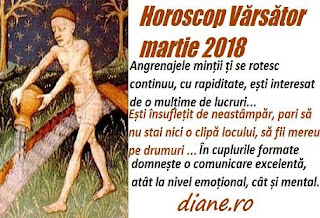 Horoscop martie 2018 Vărsător