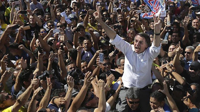 Jualan Isu Komunis & Hoaks WhatsApp, Bolsonaro Menang Pemilu Brazil