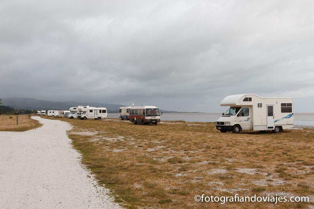 Acampar gratis en Nueva Zelanda