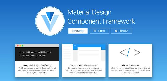 Vue.Vuetify. Mengubah Icon Font di Vuetify dari Material Icon menjadi Material Design Icon (mdi)