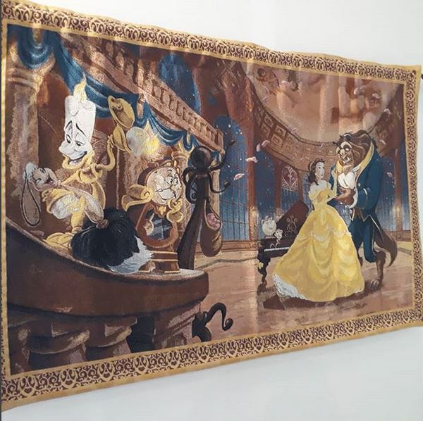 Beauty and the Beast tapestry, Lumiere