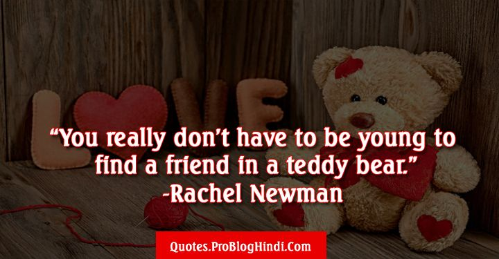 Teddy Day Quotes Best Love Quotes For Teddy Bear Day 2019