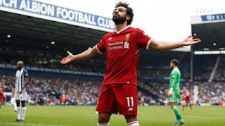محمد صلاح يتصدر قائمة فوربس لأفضل 10 لاعبين عرب فى العالم